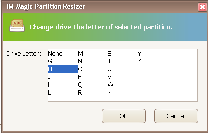 assign drive letter windows xp pro